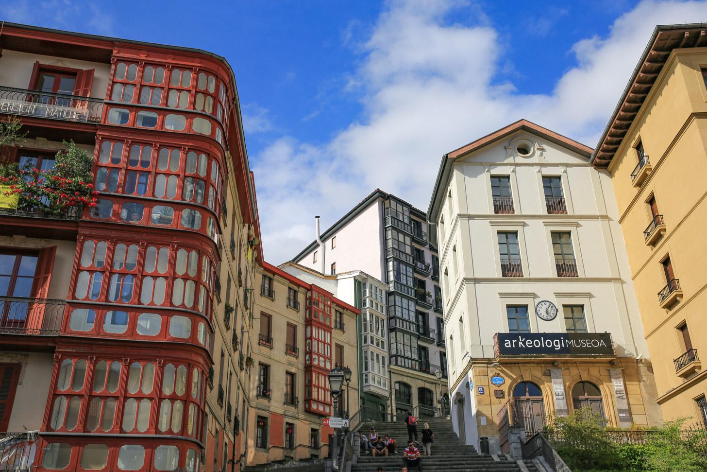 Oude binnenstad van Bilbao