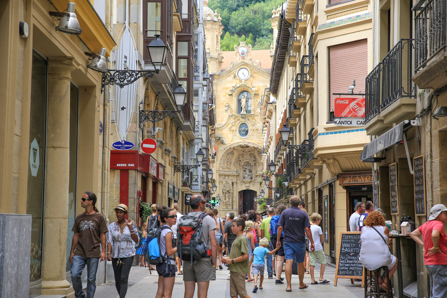 Oude binnenstad van San Sebastian